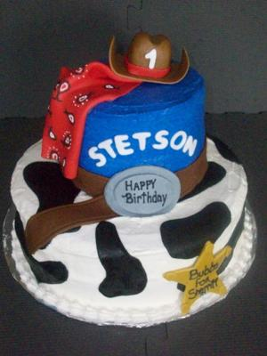 Lil Cowboy Cake