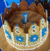 Prince Joshua's 1st Birthday Cake