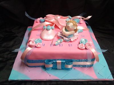 Sensational Dancing Cake Personalised Birthday Cards Cominlily Jamesorg