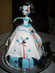 Dead Bride Halloween Cake