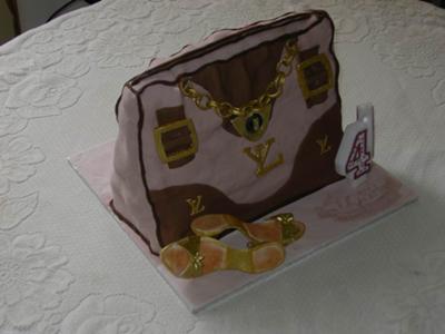 Designer Bag Birthday Cake