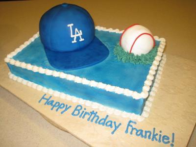 Awesome Dodger Cake Funny Birthday Cards Online Benoljebrpdamsfinfo