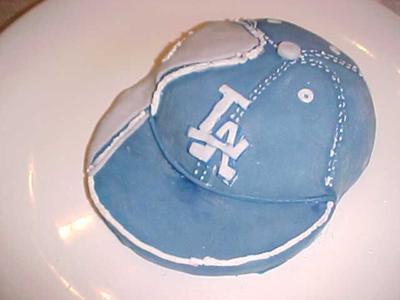 Dodger Hat Cake