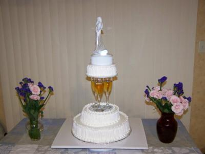 Easy and Elegant Wedding Cake