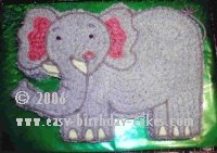 Elephant Cake Pictures and Easy Instructions