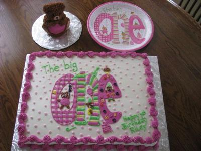 First Birthday Cakes at Easy Birthday Cakes