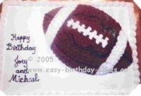 football cakes - sheet