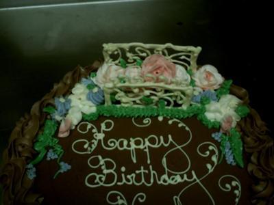 Garden Bridge Cake