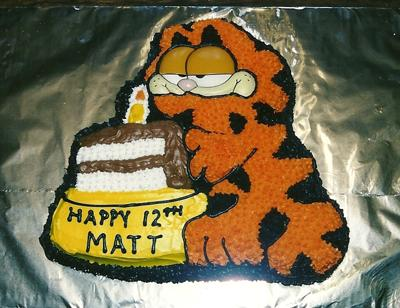 Garfield Cake - Yummy Cake!