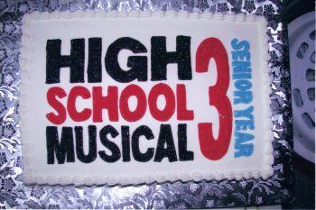 High School Musical 3 Cake