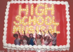 High School Musical cake