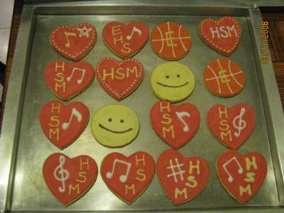 High School Musical Cookies