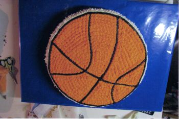 Kids Basketball Cake
