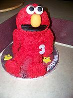 Happy Birthday Kourtnie - Elmo Cake