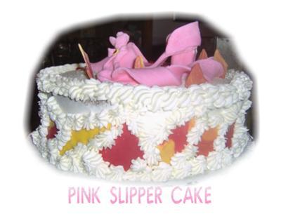 Ladies Shoe Cake