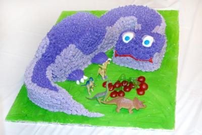 Land Before Time Dinosaur Cake
