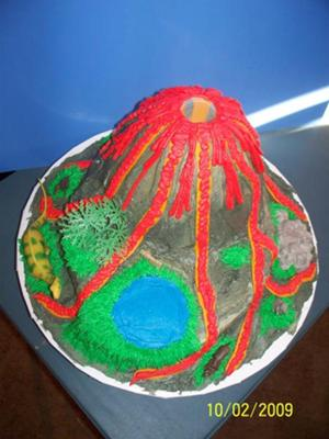 Larissa S Volcano Cake