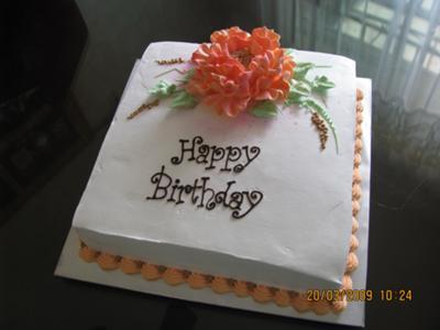Mother's Birthday Cake