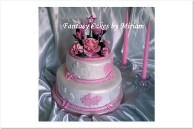 Mom's 86th Birthday Cake