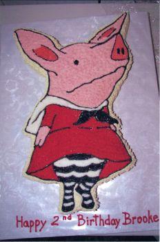 Olivia The Pig Cake