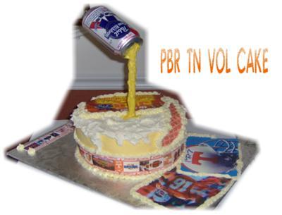 PBR and TN Vols Cake