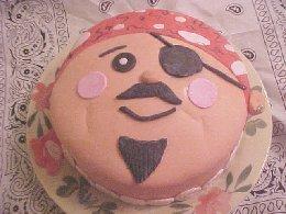Happy Pirate Cake
