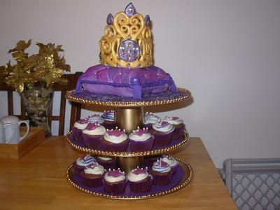 Princess Cupcake Tower
