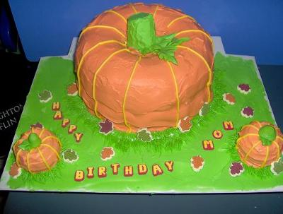 Pumpkin Patch Cake
