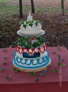Renaissance Wedding Cake
