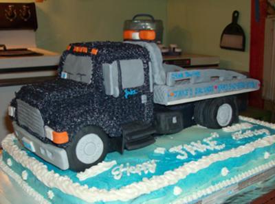 Rollback Wrecker Cake