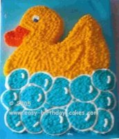 rubber ducky cakes picture