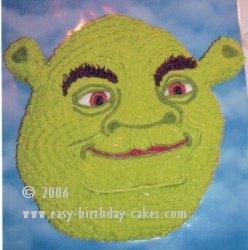 Shrek cake