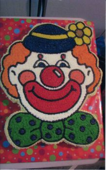 Smiley The Clown Cake