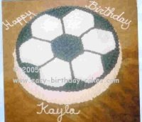 How to Make a Soccer Cake