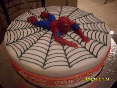 Spiderman Cake by Atinuke Olusanya