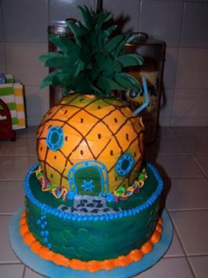 Spongebob's House Cake