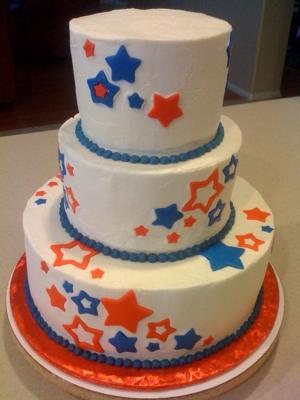 Star Spangled Cake