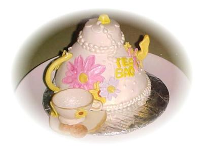 Tea for Two Cake