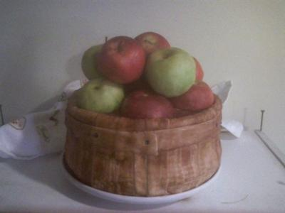 Thanksgiving Apples Cake