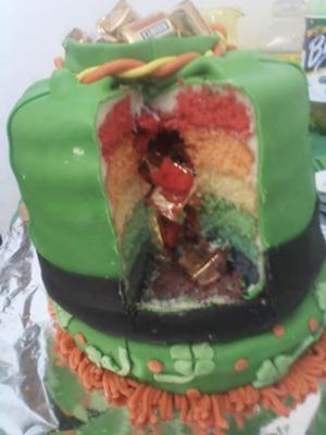 Superb St Patricks Day Cake Funny Birthday Cards Online Necthendildamsfinfo