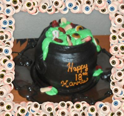 Witches Brew Cake