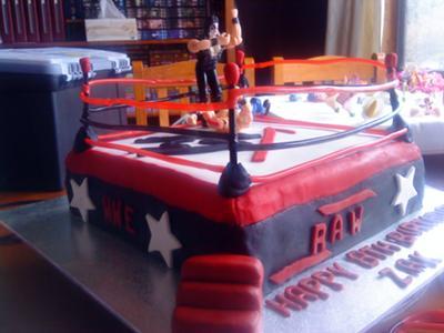 WWE Cake